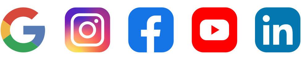 Samfélagsmiðla logo